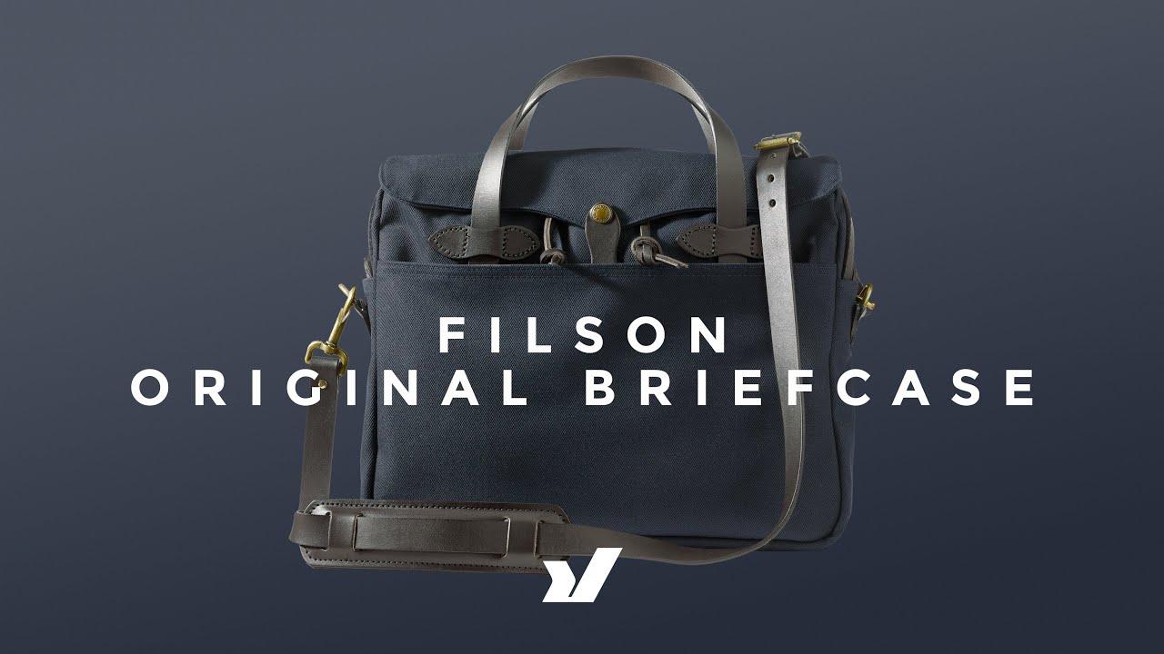 Rugged Heritage Work Bag  - The Filson Original Briefcase