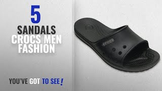 Top 10 Sandals Crocs [Men Fashion Winter 2018 ]: Crocs Unisex Crocband II Slide Sandal,