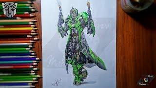 Drawing Crosshairs Ep 3 | Transformers Week | Drawing Lapse | Mahnoor Rizvi
