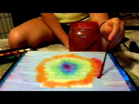Tye Dye Paint tutorial
