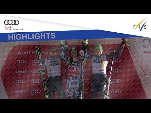 Highlights   Hirscher matches Tomba with 4th GS win in Alta Badia   FIS Alpine
