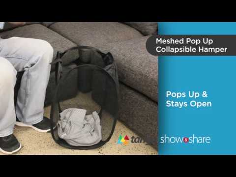 Product review: Pop Up Collapsible Hamper