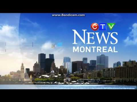 CFCF: CTV News Montreal At 6pm Open--10/21/16