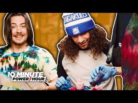 Okay We're Definitely Actually Making TIE DYE - Ten Minute Power Hour