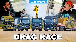 Scania Trucks & Crazy Cargo: DRAG RACE *115 Tonnes!*