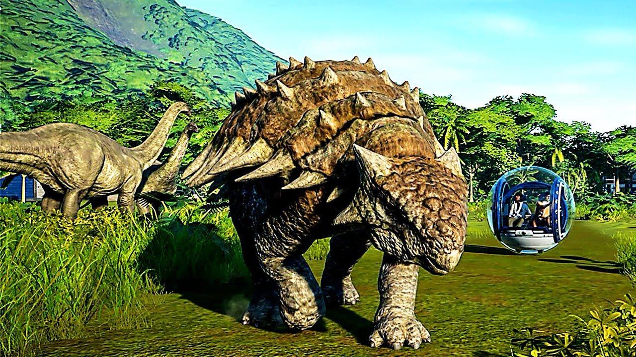 Jurassic world evolution de nouveaux dinosaures d voil s youtube - Dinosaure de jurassic park ...