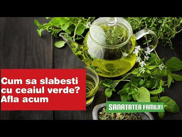 Ceai verde - dieta rapida pentru slabit - KFetele