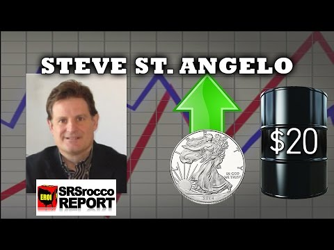 $20 Oil will Cause The Break in Silver & Gold Coming - Steve