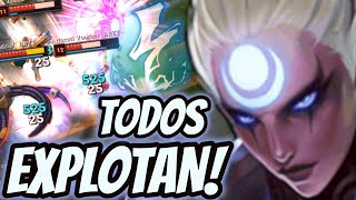 EXPLOTAN SOLO DE VERLOS! DAÑO ABSURDO| Challenger Mid | Diana - League of Legends