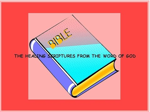 THE HEALING SCRIPTURES FROM THE WORD OF GOD EVANGELIST DEIRDRE