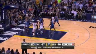Oklahoma City Thunder vs Memphis Grizzlies Game 4 | April 26, 2014 | NBA Playoffs 2014
