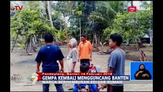 Download Video Gempa Berkekuatan 5,2 SR Kagetkan Warga Pandeglang - BIS 14/02 MP3 3GP MP4