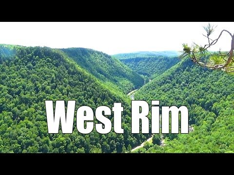Hiking the West Rim Trail (PA Grand Canyon)