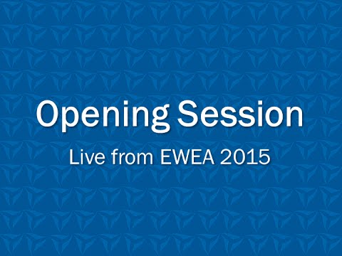 EWEA 2015: Opening session