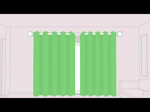 How To Install Curtains - SwiftDirectBlinds.co.uk