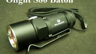 Olight S10 Baton LED Flashlight 300 Lumens EDC