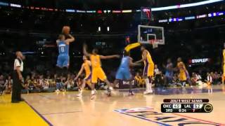 NBA Playoffs 2012: Oklahoma City Thunder Vs Los Angeles Lakers Highlights May 19, 2012 Game 4