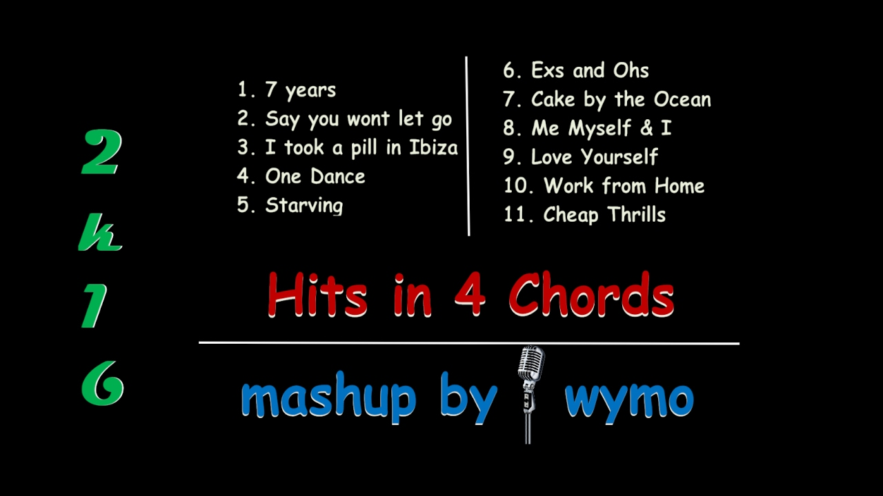 2016 hits in 4 chords g d em c youtube 2016 hits in 4 chords g d em c hexwebz Images