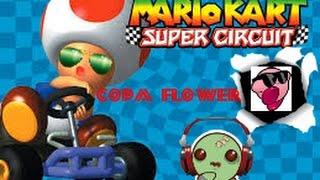 mario kart super circuit copa flower
