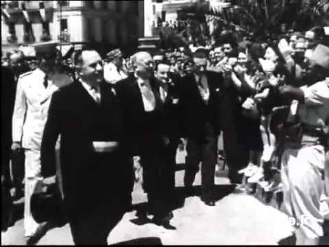 Voyage en Algérie du Président Auriol,