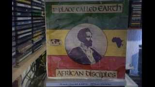 African Disciples : Row Natty Dread - CD - Place Called earth ZION TRAIN