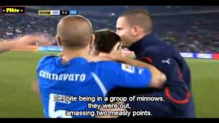 2010 World Cup's Most Shocking Moments #38: Reigning World Champions Italy