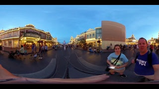 Magic Kingdom 360 Live Stream - 2-10-18 - Walt Disney World
