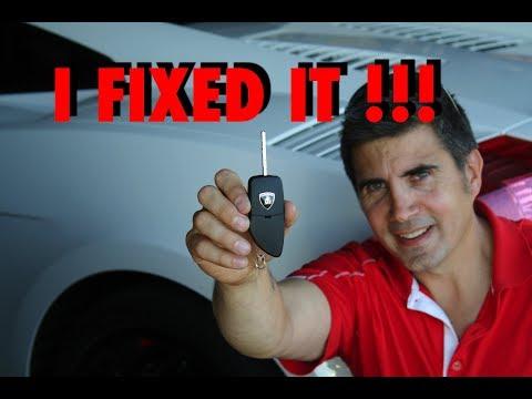 Lamborghini Gallardo Key Fob Problems | Solution