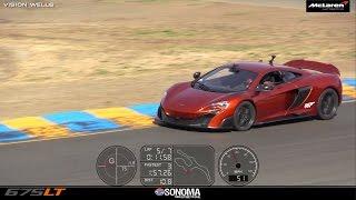 McLaren 675LT (FAST LAP) @ Sonoma Raceway