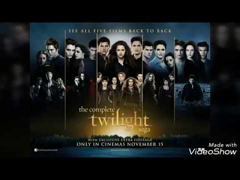 Twilight Saga all 5 parts movie