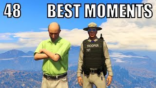 BEST OF GTA 5 RP #48 Melbert Goes To Space, National Geographic, Lean Bois VS Ballers