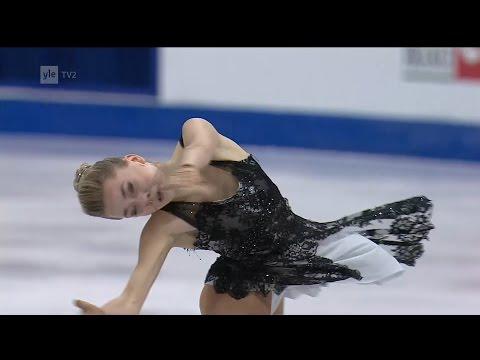 Elena Radionova - Free skating - 2016 European Figure Skating Championships
