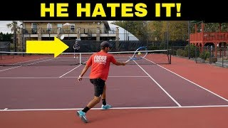NO more EASY SHOTS for your opponent! Forehand Slice Mastery