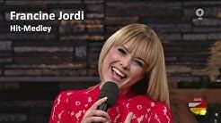 Francine Jordi - Hit-Medley (Silvester Stadlshow aus Linz 2015)