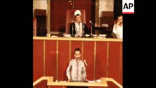 CUTS 5 9 80 IRAN PARLIAMENT DISCUSS AMERICAN HOSTAGES