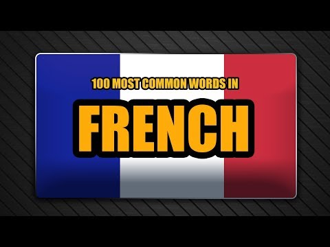 100 Most Common French Words in Context - List of French Wor