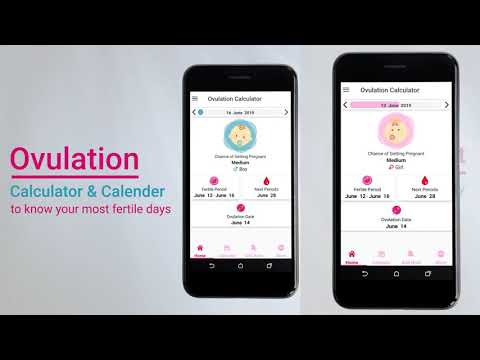 Advanced Ovulation Calculator app to Know your Most Fertile Days #ovulation #ovulation_day
