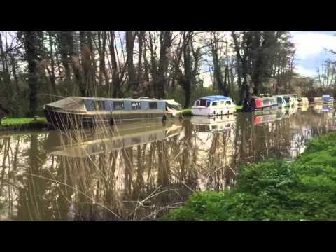 River Wey Navigation Canal