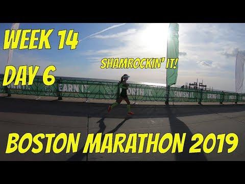Boston Marathon 2019 - Week 14, Day 6 - Shamrock Half Marathon (Day 2) [2019]