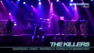 The Killers - Spaceman / Chile, La Cupula / 31 March [HD-1080i]