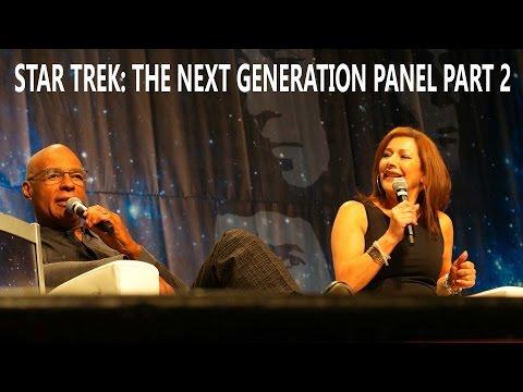Jonathan Frakes, Marina Sirtis and Michael Dorn  Star Trek: TNG Panel Part 2  August 6, 2016