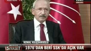 Kılıçdaroğlu'ndan SSK İftiralarına Net Yanıt!
