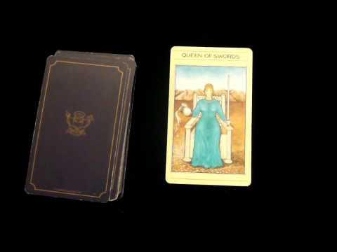 Queen of Swords Tarot Card Meaning Video