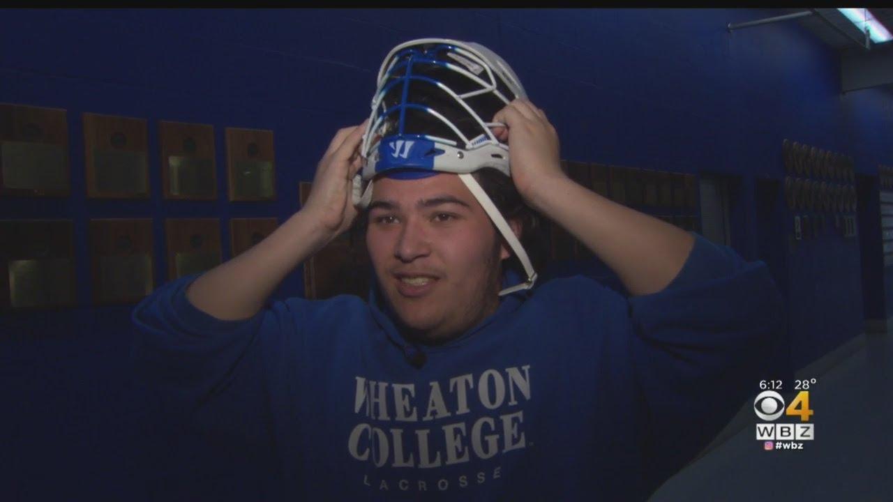 605d4775d9a College lacrosse: Wheaton's Alex Chu needs custom helmet   SI.com