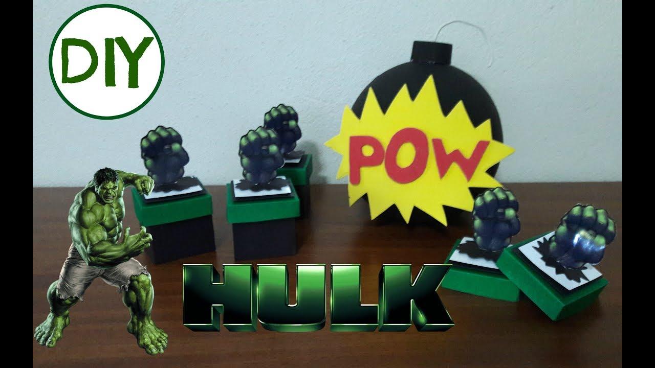 Caixa Hulk 3d Taisa Alves Youtube