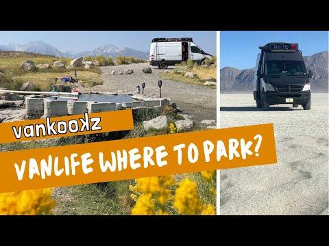 Van Life Where Do You Park to Sleep? | What is Van Life Really Like?