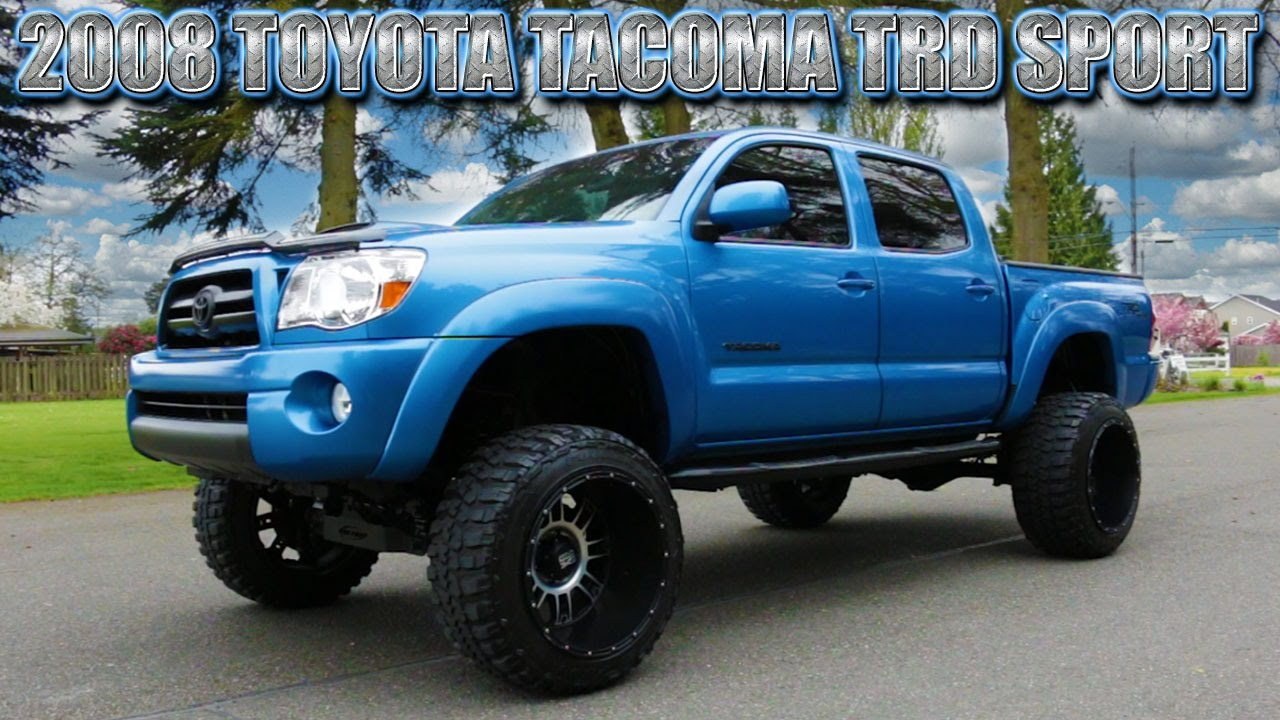 2008 Toyota Tacoma TRD Sport 4x4  Northwest Motorsport  YouTube