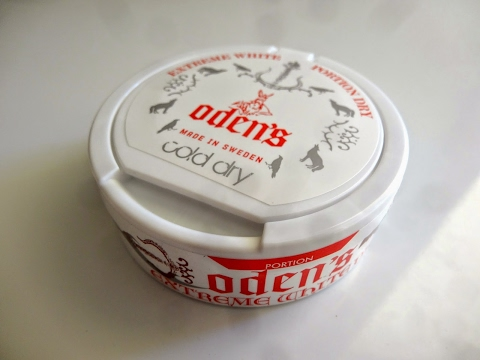 обзор снюса odens cold dry