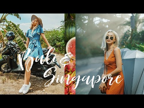 travel diary | Bali & Singapore