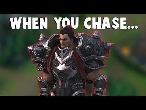 When You Chase Dyrus For Too Long... | Funny LoL Series #89